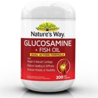 Natures Way Glucosamine Fish Oil 200 caps