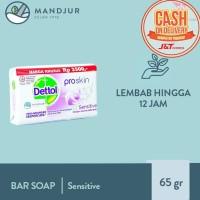 Sabun Mandi Batang Dettol Proskin Sensitive - 65 gram