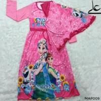 Baju Muslim Gamis Anak Perempuan 4 5 6 7 Tahun MAP009 - 4 Thn