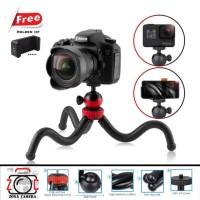 Tripod Flexible pod Vlog Gorillapod Kamera Smartphone 555 Taka Trifot