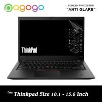Screen Protector Anti Gores Laptop Thnkpad Ibm 10 11 12 13 14 15 Glare