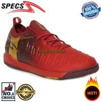 Sepatu Futsal Specs Swervo Thunderblot 19 IN 400829 - Em Red ORIGINAL