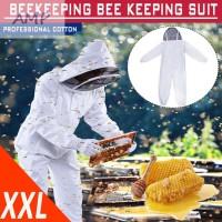 1pc Beekeeping Clothing Hat Jacket Coat Hood Plus Size Bee