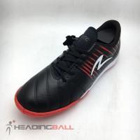 Sepatu Futsal Specs Original Barricada Lea 19 IN Black Red 400833 BNIB
