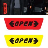 Mal 10x3cm Tape / Selotip Reflektif Untuk Peringatan Keamanan Mobil