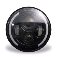 HEADLAMP HEAD LAMP LAMPU UTAMA DEPAN LED DAYMAKER 7 INCH KATANA JIMN
