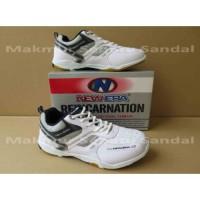 Sepatu Badminton - New Era Badminton 2 - White/Navy VV