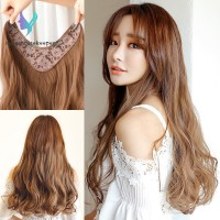 Hair Extensions Long Curly Wigs for Women Heat Resistant Synthetic