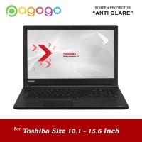 Screen Protector Anti Gores Laptop Toshiba 10 11 12 13 14 15 Glare