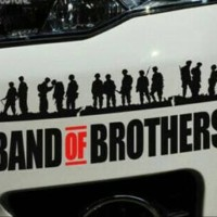Stiker Band of Brother Jeep Off road Dll
