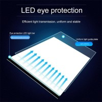 New USB Powered Ultra-thin A4 LED Drawing Pad Animation Tracing