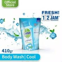 Sabun Mandi Dettol /Sabun Cair Dettol / Dettol Cool Fresh Pouch 410gr
