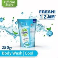 Sabun Mandi Dettol /Sabun Cair Dettol / Dettol Cool fresh Pouch 250gr
