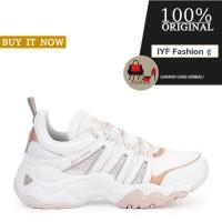 Sepatu Sneakers Original Sepatu Skechers D'Lites 3.0 - White/Rose Gold