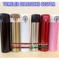 termos starbucks panas dingin / tumbler stainless niagara