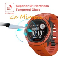 Tempered Glass For Garmin Instinct Round SmartWatch