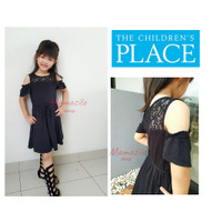 Dress branded anak Lace Hitam / dress anak brukat / dress Place