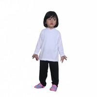 Baju Manset Grosir 1-8 Tahun Yasta Fashion - Putih, Size S