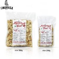 Kacang Kenari Panggang Original (Giant Kenari Nut Roasted) 250gr