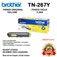 BROTHER Toner TN-267Y TN267Y TN267 for L3230 L3270 L3551 L3750 L3770