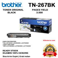 BROTHER Toner TN-267BK TN267BK TN267 for L3230 L3270 L3551 L3750 L3770