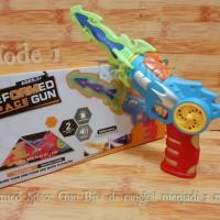 Mainan pistol Deformed Space Gun 2Deformation Modes
