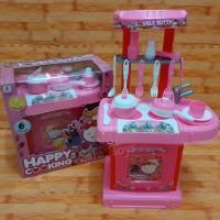 Mainan Alat Dapur Happy Cooking Set Karakter Hello Kitty