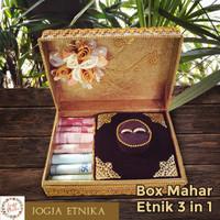 Kotak Cincin / Box Cincin / Mahar Pernikahan / Tempat Perhiasan Pernik