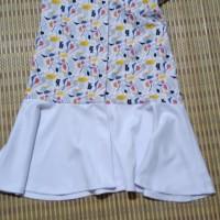 Dress Putih SOURE anak perempuanPreloved