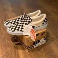 Sepatu Vans Slip On Checkerboard V98CLA Japan Market Original BNIB!