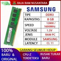 [BARU] RAM / MEMORY SAMSUNG PC DDR3 8GB