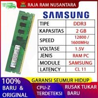 [BARU] RAM / MEMORY SAMSUNG PC DDR3 2GB