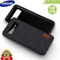 soft case mofi fabric bumper silicone Samsung S10 plus