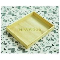 30 cm x 40 cm Wooden Box/Hantaran/Nampan Kayu/Kotak Kayu seserahan