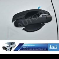 JSL Cover handle gagang pintu hitam blacktivo Sienta