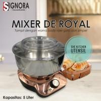 Mixer Signora De Royal mixer kue roti donat bakpao mixer Signora