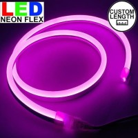 Lampu Led neon flex Rope light Custom Warna Pink meteran