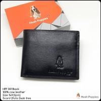 dompet pria hushpuppies 001 black replica dompet kulit dompet murah