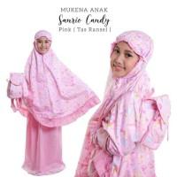 Mukena Anak Sanrio Candy Pink XXL Tas Ransel