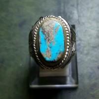 Pirus Persia Blue Fancy - Cincin Batu Akik 01