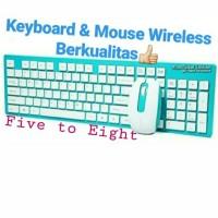 Keyboard & Mouse Wireless Berkualitas Terbaik