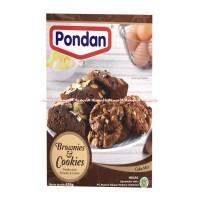 Pondan Brownies Cookies Cake MIX Tepung Instan 435gr