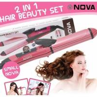 Catok Nova Mini 2in1 Lurus Keriting Catokan Rambut Mini 2 in 1 Hair