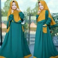 Baju Muslim Anak Perempuan Murah Gamis Anak Rumana Kids (8-11 tahun )