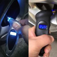 Pengukur Tekanan Angin Ban Mobil Digital LCD Tire Pressure Gauge Ag-13