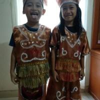 Hot Produk Baju Adat Anak Papua Payet Terlaris