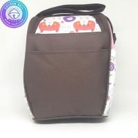 Original Tas Susu Asi Dan Makanan Bayi Thermal Kiddy Cooler Bag Pink