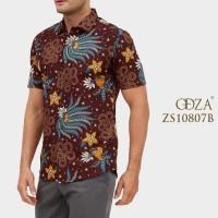 Baju Batik Pria Kemeja Pria Lengan Pendek Outfit Pesta Seragam Grosir