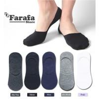 Kaos kaki invisible hidden socks unisex (Pria-Wanita) dibawah matakaki - Hitam