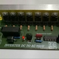 MURAH I KIT MODUL INVERTER DC 12-24 V TO AC 220 V-750 W COM3